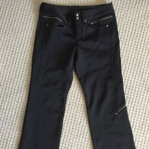 d9afe1864fde8 Athleta Pants - Athleta Black Calaveras Ski Pants Soft Shell 8 New